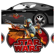 Star Wars Boba Fett Action Series Vehicle Graphic
