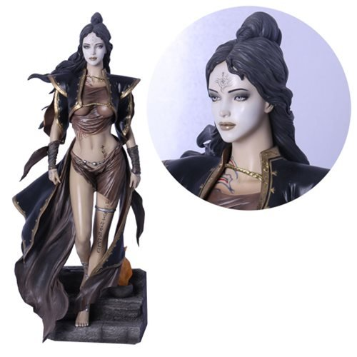 Fantasy Figure Gallery Dead Moon Luis Royo Limited Edition Variant 1:4 Scale Statue