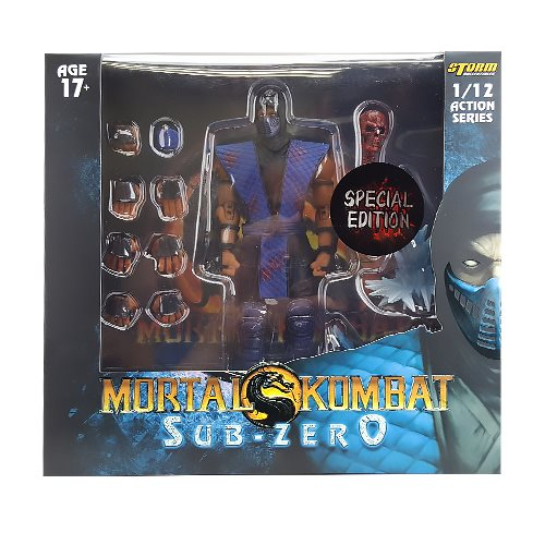 Mortal Kombat Sub-Zero Bloody Special Edition 1:12 Action Figure