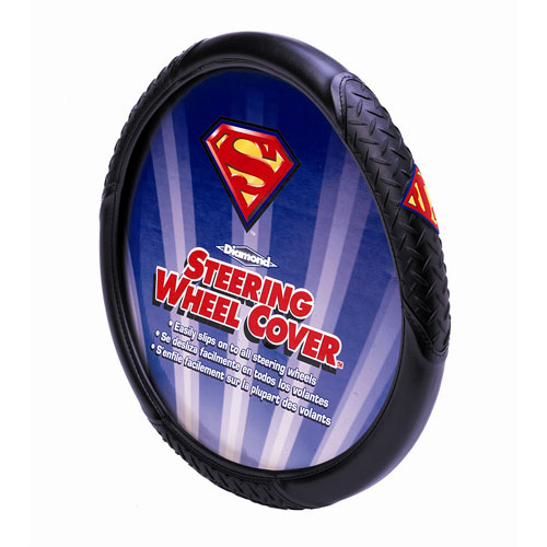 Superman Logo Diamond Steering Wheel Cover