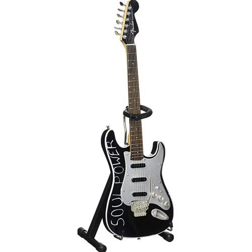 Audioslave Tom Morello Soul Power Miniature Guitar Replica