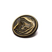 Mighty Morphin Power Rangers Tyrannosaurus Power Coin Pin