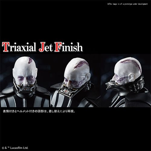 Star Wars Return of the Jedi Darth Vader 1:12 Scale Plastic Model Kit