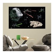 Star Wars Space Battle Peel and Stick Giant Wall Decals