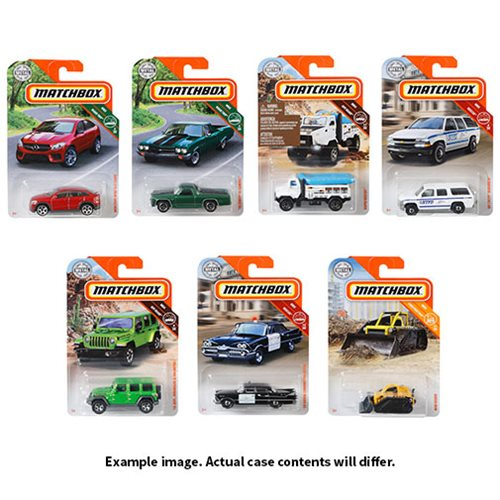 Matchbox Car Collection 2019 Mix 3 Case