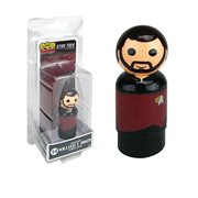 Star Trek: The Next Generation Riker Pin Mate Wooden Figure