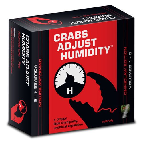 Crabs Adjust Humidity Omniclaw Edition Card Game