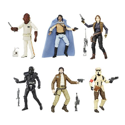 Star Wars The Black Series 3 3/4-Inch Action Figures Wave 4 Revision 1 Case