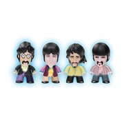 The Beatles Yellow Submarine Standard Costumes Glow-in-the-Dark 3-Inch Titan Vinyl Figure 4-Pack