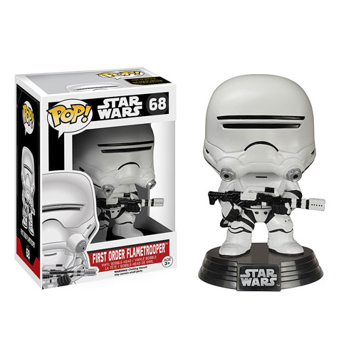 Star Wars: Episode VII - The Force Awakens First Order Flametrooper Pop! Vinyl Bobble Head