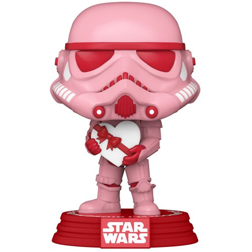 Star Wars Valentines Stormtrooper with Heart Pop! Vinyl Figure