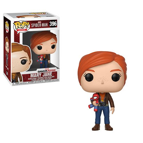 Spider-Man Mary Jane with Plush Pop! Vinyl Figure #396