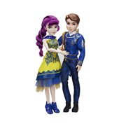 Disney Descendants Two-Pack Ben Auradon Prep and Mal Isle of the Lost Dolls