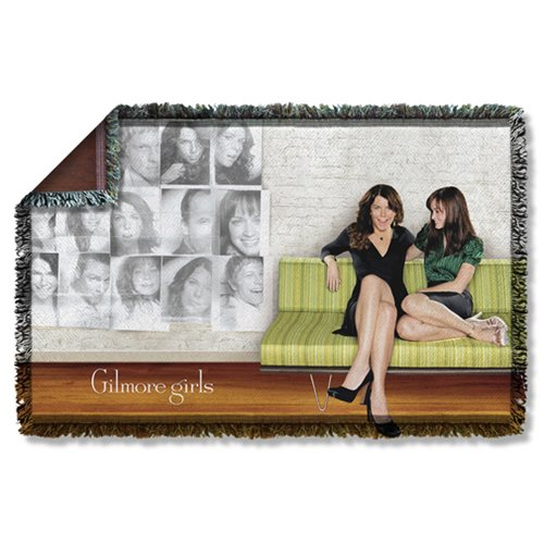 Gilmore Girls Couch Woven Tapestry Throw Blanket