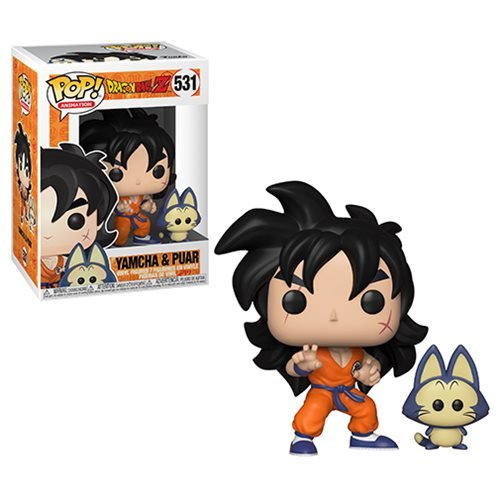 Dragon Ball Z Yamcha and Puar Pop! Vinyl Figure #531