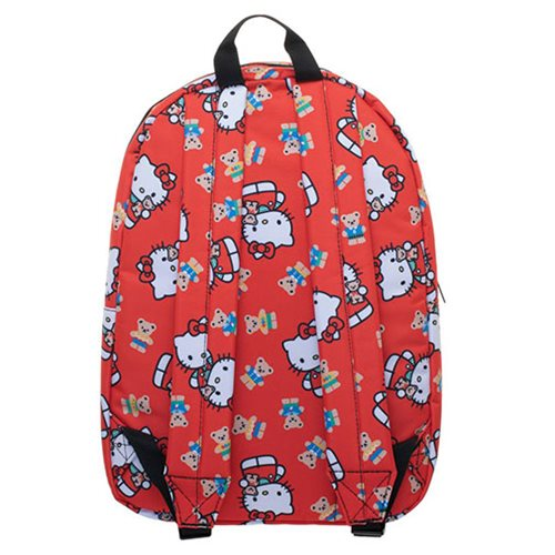 Hello Kitty Red Print Backpack