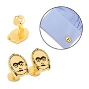 Star Wars C-3PO Gold Plated Cufflinks