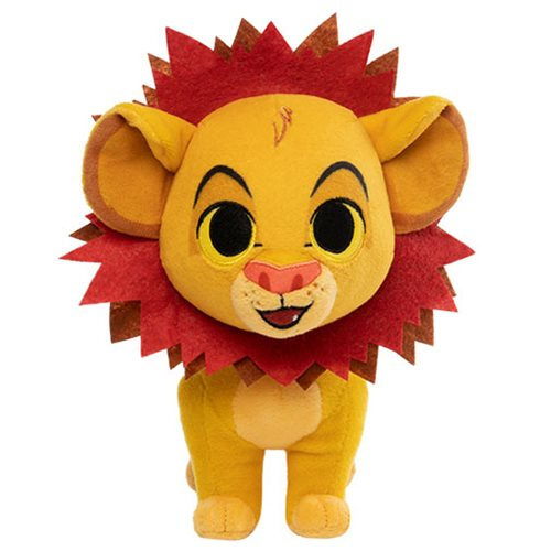 Lion King Simba with Leaf Mane SuperCute Plush