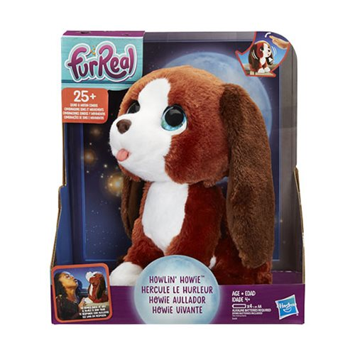 FurReal Howlin' Howie Interactive Plush Pet Toy Puppy Dog
