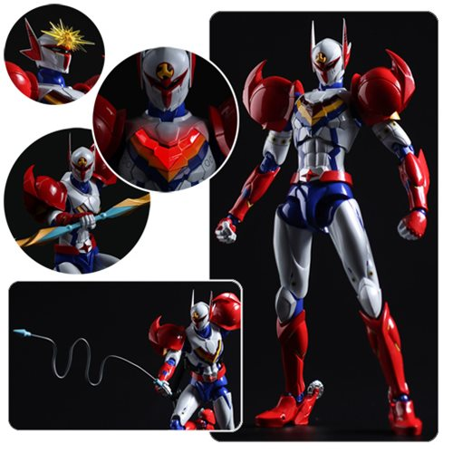 Infini-T Force Tekkaman Fighter Gear Version Tatsunoko Heroes Fighting Gear Action Figure