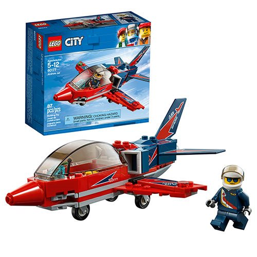 LEGO City Great Vehicles 60177 Airshow Jet
