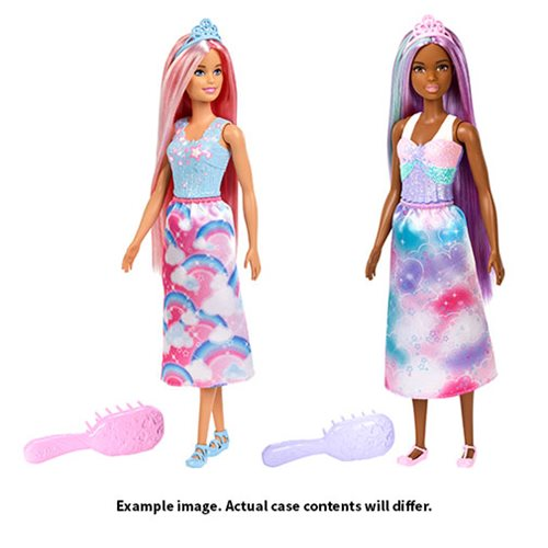 Barbie Long Hair Princess Doll Case