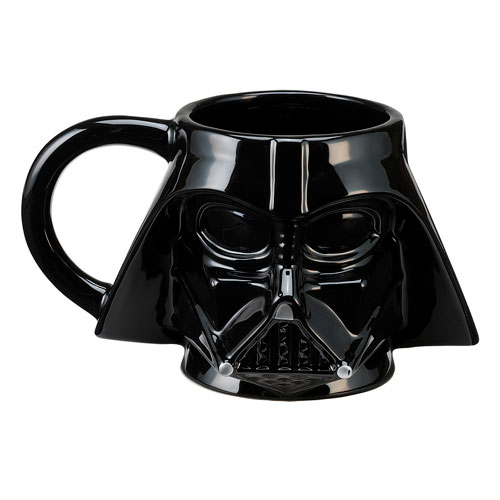 Star Wars Darth Vader Head Sculpted Ceramic Mug