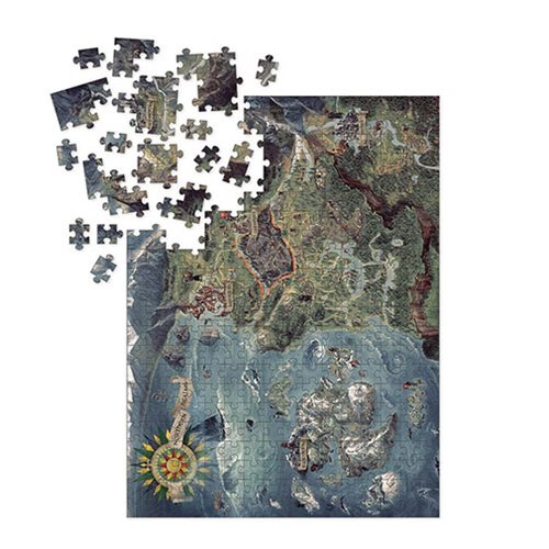 The Witcher 3 Wild Hunt World Map Puzzle