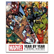 Marvel Year by Year A Visual History Updated and Expanded Hardcover Book