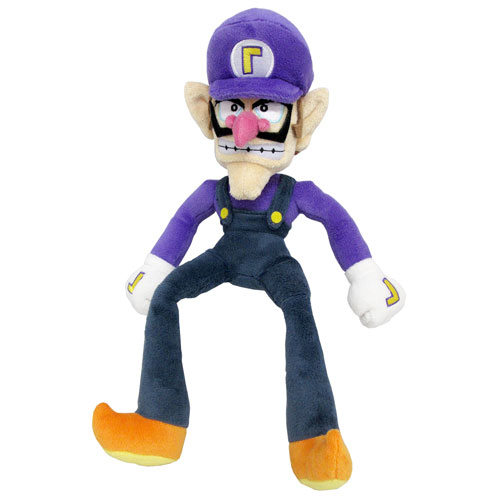 Super Mario All-Stars Waluigi 13-Inch Plush