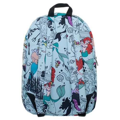 211cb4490dc The Little Mermaid Print Blue Backpack. New Pre-Orders Apr 08. Skip to  image 1  Skip to image 2 ...