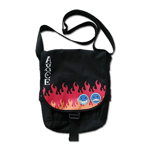One Piece Ace's Hat Icon Messenger Bag