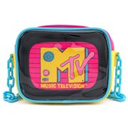 MTV Clear Pouch Crossbody Purse