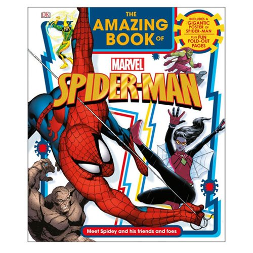 The Amazing Book of Marvel Spider-Man Hardcover Book