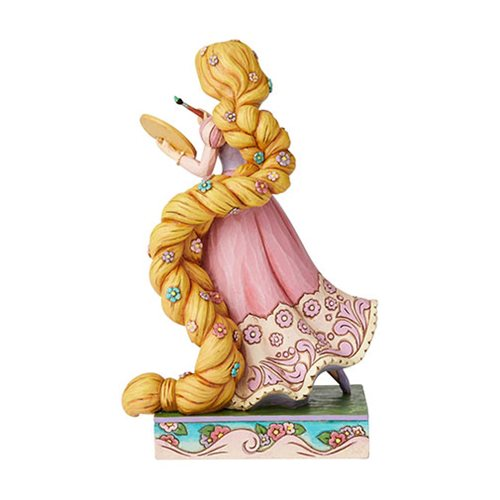 Disney Traditions Tangled Princess Passion Rapunzel Adventurous Artist by Jim Shore Statue