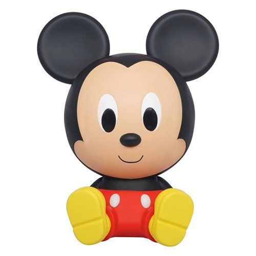 Mickey Mouse Sitting PVC Figural Bank