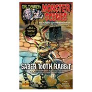 Saber Tooth Rabbit Monster Scenes Diorama Model Kit