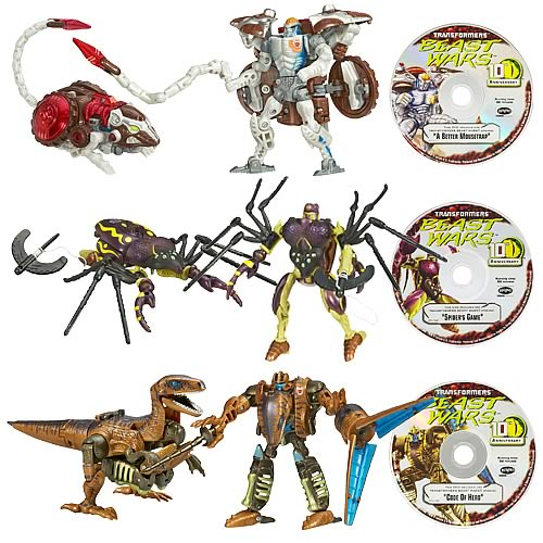 Beast Wars Transformers 10th Anniversary Wave 2 Set