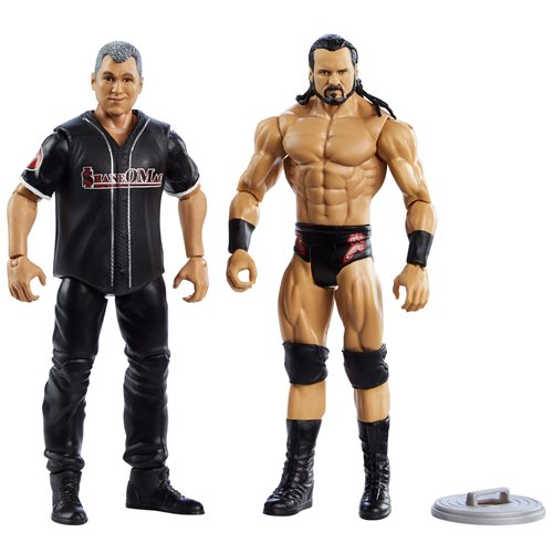 WWE Drew Mcintyre and Shane Mcmahon Basic Series 66 Action Figure 2-Pack
