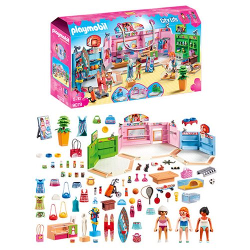 Playmobil 9078 Shopping Plaza