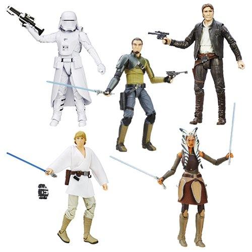 Star Wars: The Force Awakens The Black Series 6-Inch Action Figures Wave 6 Case