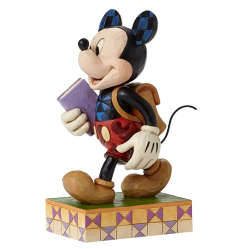 Disney Traditions Back to School Mickey Statue