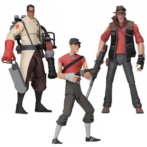 Team Fortress 2 Series 4 Red Action Figure Set Entertainment Earth