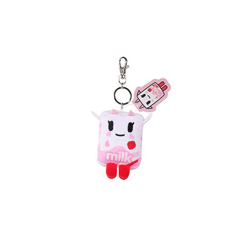 Tokidoki Strawberry Milk Plush Key Chain