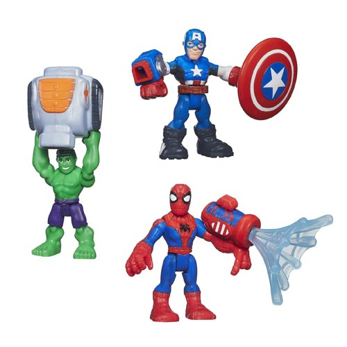 Super Hero Adventures Featured Figures Wave 1 Case