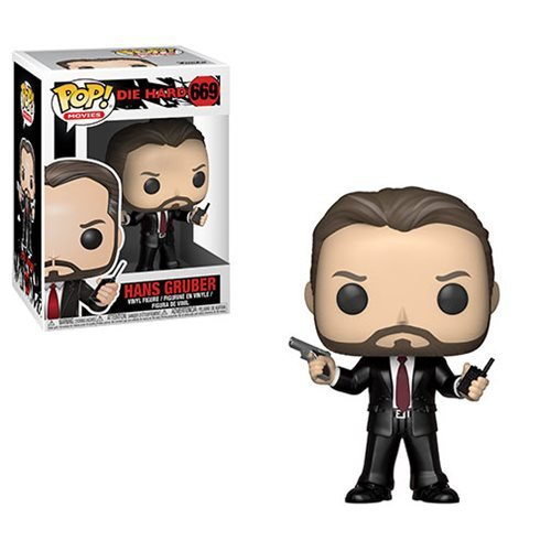 Die Hard Hans Gruber Pop! Vinyl Figure #669