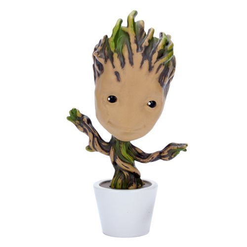 Guardians of the Galaxy Potted Groot 4-Inch Metals Die-Cast Metal Action Figure