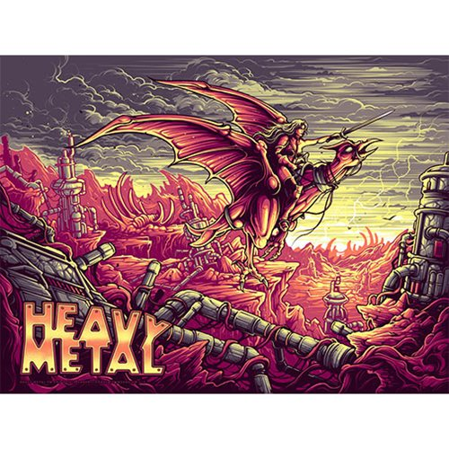 Heavy Metal Variant Edition by Dan Mumford Art Print