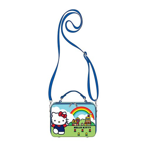 Hello Kitty Scenary Lunchbox Crossbody Purse