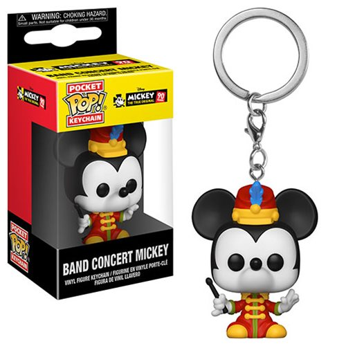 Mickey's 90th Band Concert Mickey Pocket Pop! Key Chain